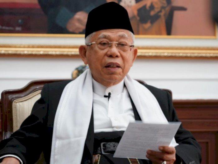 Ma'ruf Amin Sebut Moderasi Beragama di Indonesia Mulai Dilirik Dunia