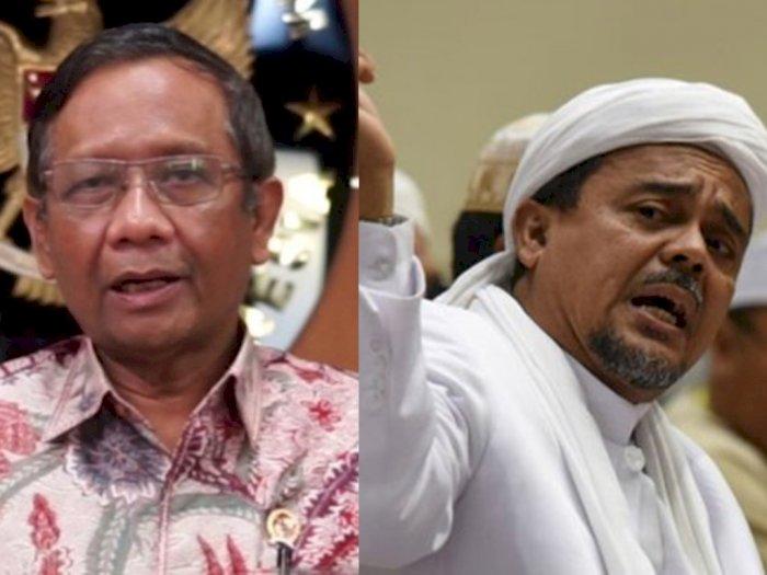 Hak Habib Rizieq Balik ke Tanah Air, Mahfud MD: Aparat Tidak Usah Terlalu Berlebih-lebihan