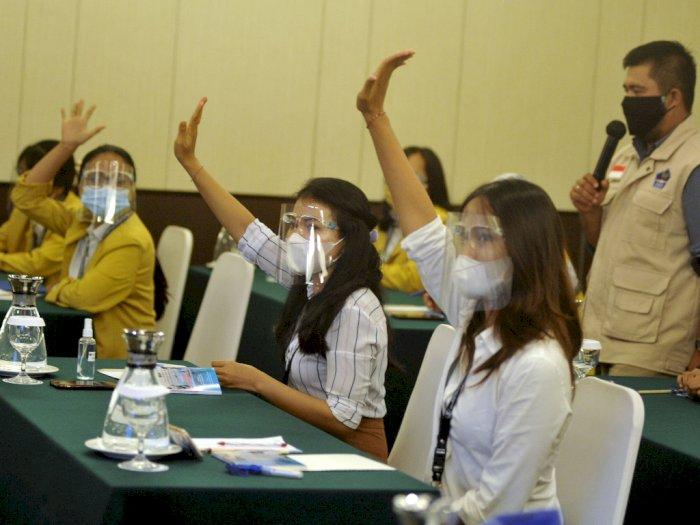 FOTO: Pelatihan Relawan Penanganan COVID-19