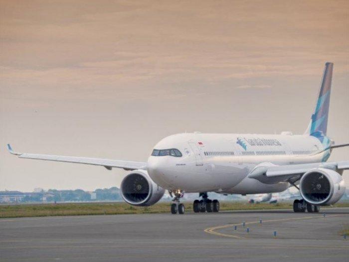 Akses ke Bandara Macet, Garuda Bebaskan Biaya Jadwal Ulang Penerbangan