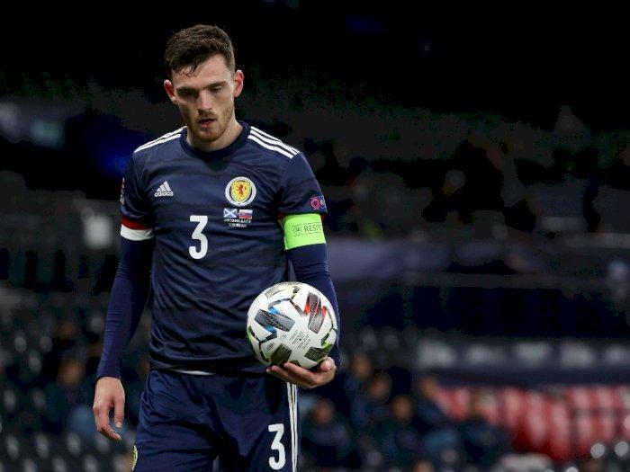 Andy Robertson Didukung untuk Bawa Skotlandia Raih Kejayaan Euro 2020