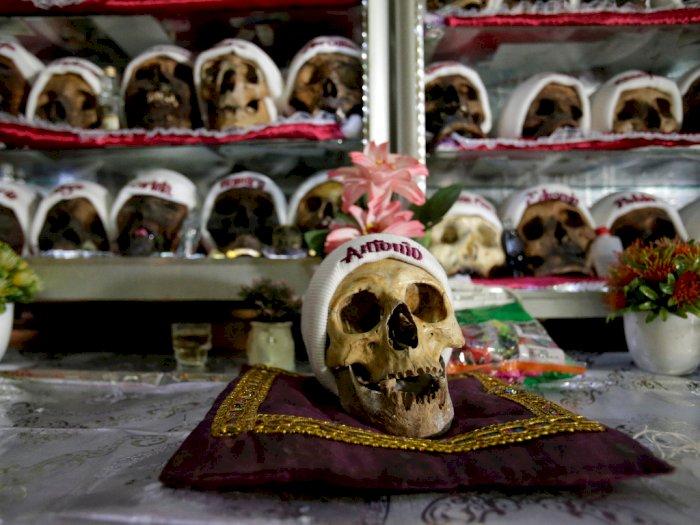 FOTO: Perayaan Hari Tengkorak di Bolivia
