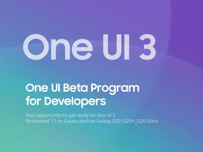 Rumor: Samsung Bakal Hadirkan One UI 3.0 Berbasis Android 11 untuk 90 Perangkat!