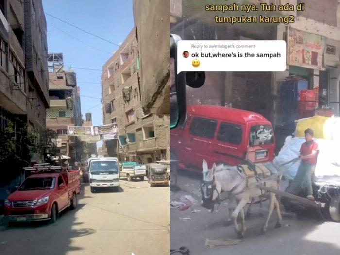 Melihat Kota Sampah Terbesar di Mesir, Penduduknya Bekerja Sebagai Pemulung