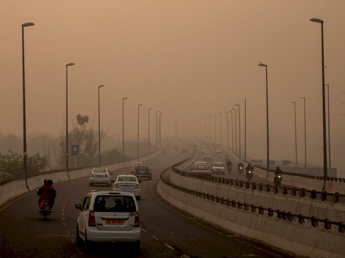 Duh! Tahun Ini, Kualitas Udara di New Delhi Berada di Level Terburuk