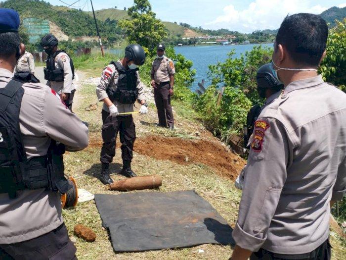 Tangani Kecelakaan di Papua, Polisi Malah Temukan Bom Mortir Bekas Perang Dunia II