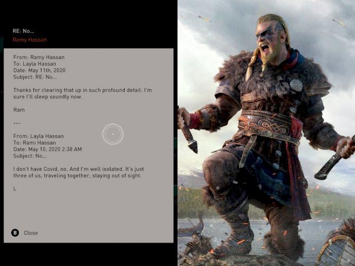 Cerita di Game Assassin's Creed Valhalla Cantumkan Kata 'COVID'