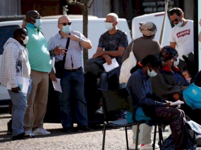 Akibat Covid-19, Angka Pengangguran di Prancis Terus Meningkat