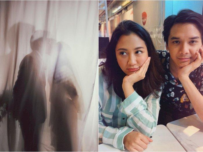 Pamer Foto Ciuman dengan Suami dari Balik Tirai, Sherina Munaf Bikin Netizen Baper