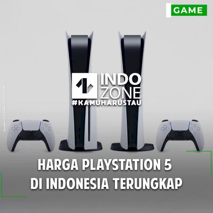 Harga PlayStation 5  di Indonesia Terungkap