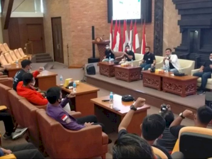 Ajukan Uji Materi UU Cipta Kerja, BEM Nusantara Bentuk Tim Advokasi, Harap Didengar Jokowi