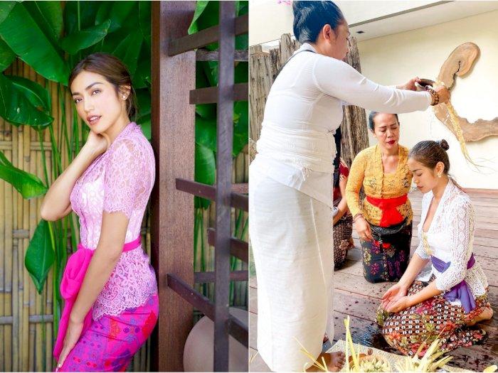 Unggah Foto saat Ikuti Ritual Adat Bali, Jessica Iskandar ...