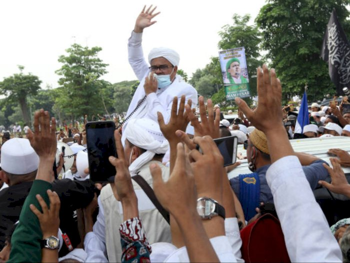 Soal Kerumunan Massa Sambut Habib Rizieq Shihab, PDIP DKI: Tak Hargai Tenaga Kesehatan