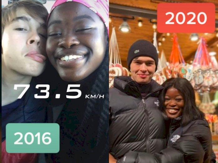 Viral Cewek Berkulit Gelap Dapat Kekasih Yang Tampan Berkulit Putih, Tak Ada di Indonesia