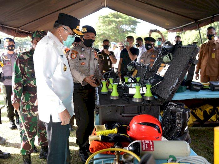 FOTO: Apel Gabungan Kesiapan Penanganan Bencana Alam di Aceh