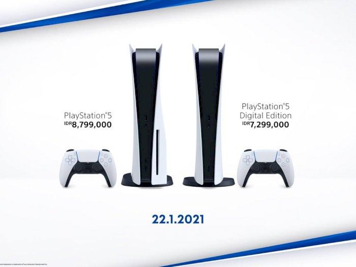 Harga PlayStation 5 di Indonesia Terungkap, Dibanderol Mulai dari Rp7,299 Jutaan!