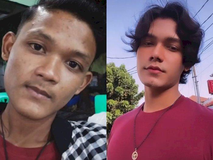 Viral Pria Berwajah Biasa Serta Berkulit Hitam Jadi Ganteng, Netizen Tak Percaya