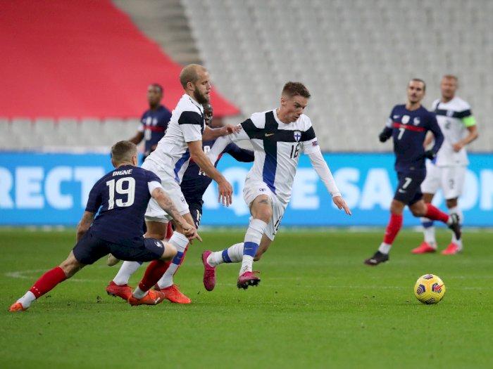 Prancis Vs Finlandia Berakhir Dengan Skor 0-2, Didier Deschamps Kesal