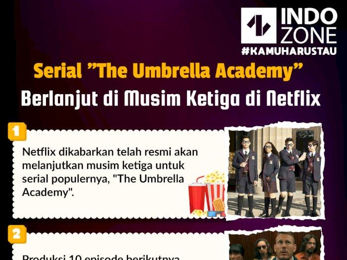 "Serial ""The Umbrella Academy"" Berlanjut di Musim Ketiga di Netflix"