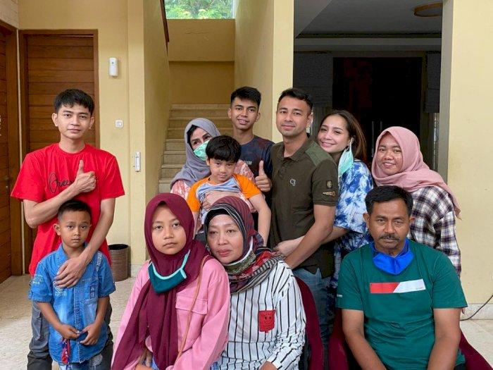 Foto Bareng Keluarga Dimas Ramadhan, Raffi Ahmad: Keluarga Baru