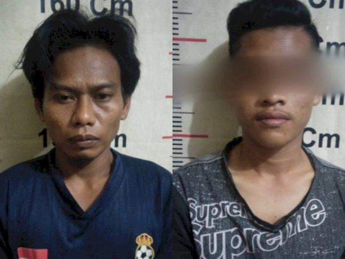 Simpan Sabu-sabu, Dua Pria di Langkat Diringkus di Padang Tualang