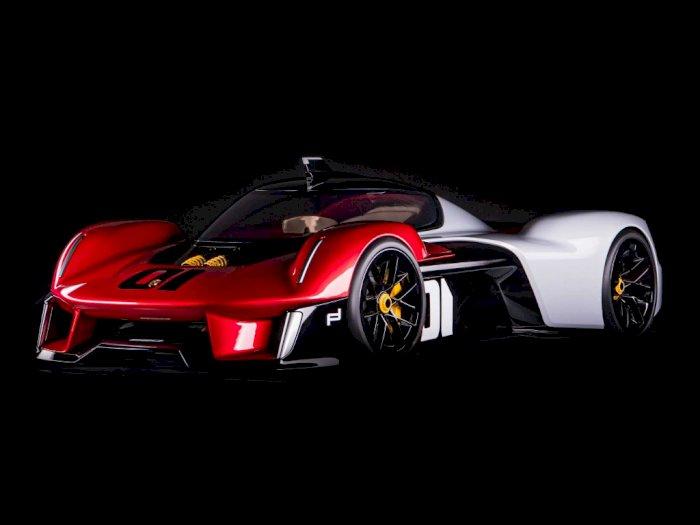 Seperti Ini Konsep Mobil Porsche Vision 920 dengan Tampilan Futuristik