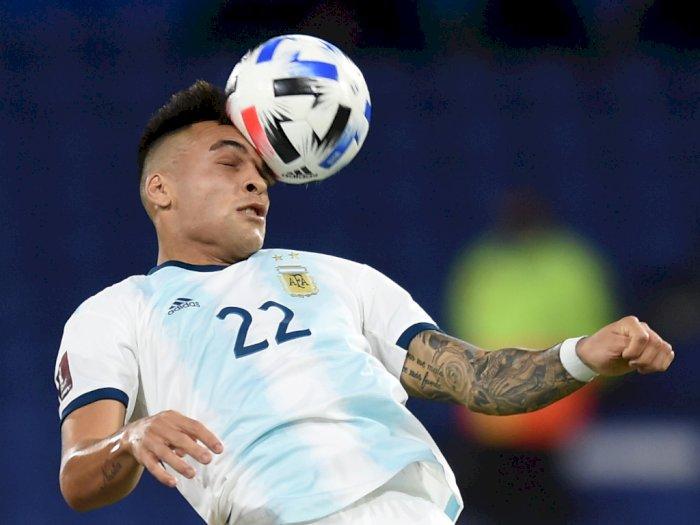 FOTO: Kualifikasi Piala Dunia 2022, Argentina vs Paraguay 1-1