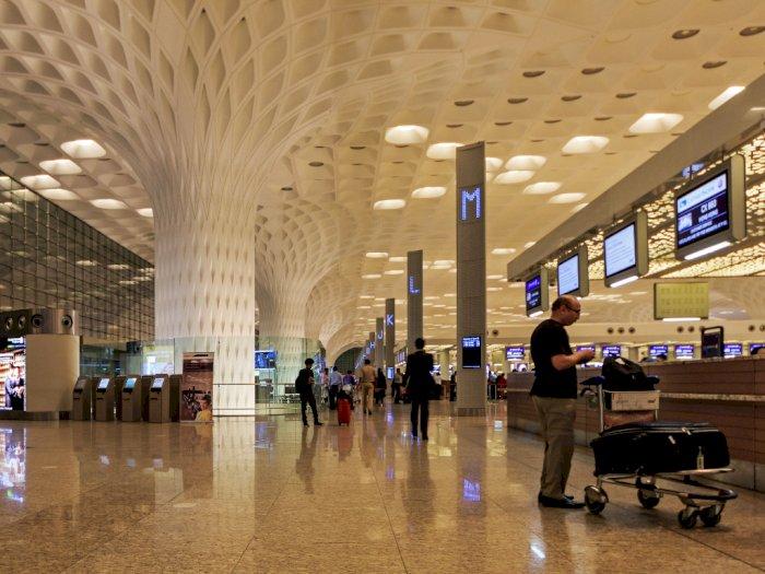 Sambil Tunggu Hasil Tes Covid-19, Bandara di Mumbai Ini Beri Makanan Gratis ke Penumpang