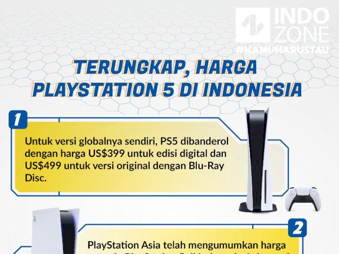 Terungkap, Harga  PlayStation 5 di Indonesia