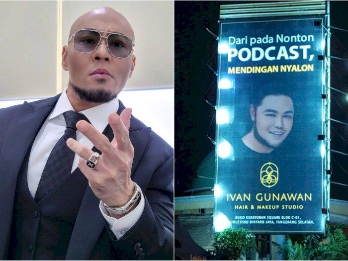 Deddy Corbuzier dan Ivan Gunawan 'Perang' Billboard, Netizen: Becandanya Orang Kaya