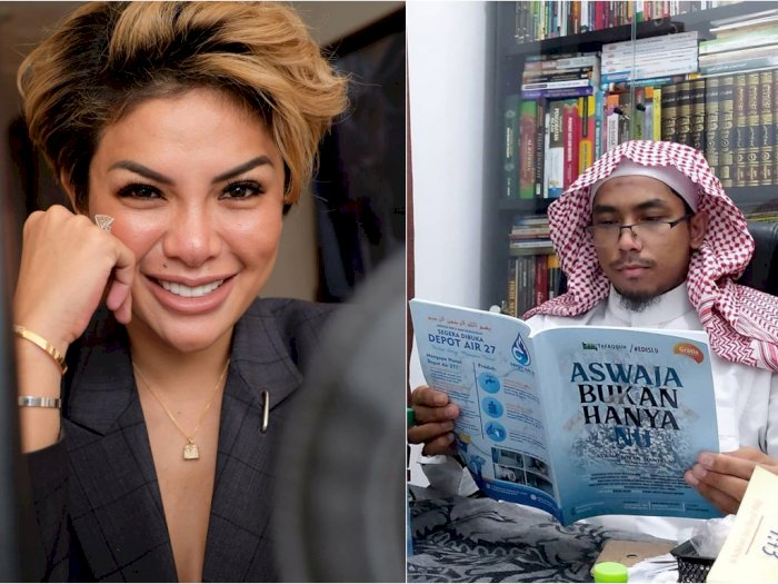 Puji Keberanian Nikita Mirzani Soal Ustaz Maaher, Warganet Gaungkan Tagar #KitaNikita