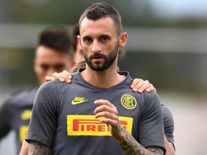 Gelandang Inter Marcelo Brozovic Terinfeksi Corona Saat Bertugas untuk Kroasia