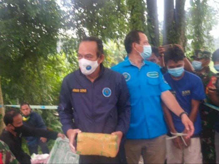 Dua Tersangka Kasus 141 Kg Ganja Aceh Sakit, Kini Dirawat di Rumah Sakit di Medan