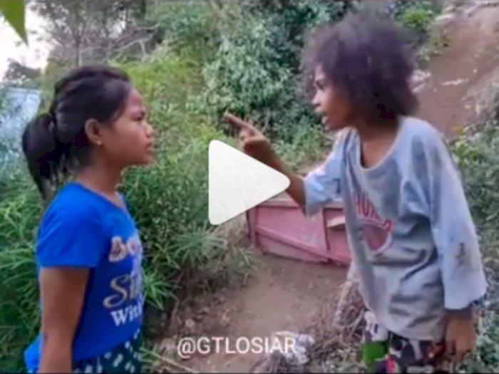 Bikin Ngakak! Bocah-bocah Ini Peragakan Fenomena Perselingkuhan, Saling Tuduh Pelakor