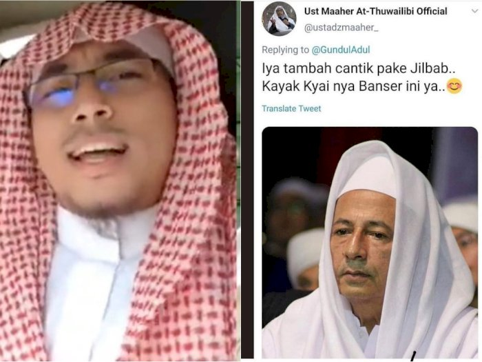 Hina Habib Luthfi Cantik Pake Jilbab Maaher At Thuwailibi Dipolisikan Indozone Id