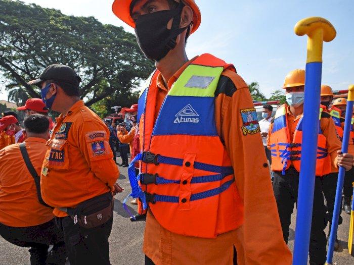 FOTO: Antisipasi Bencana Hidrometeorologi di Banten