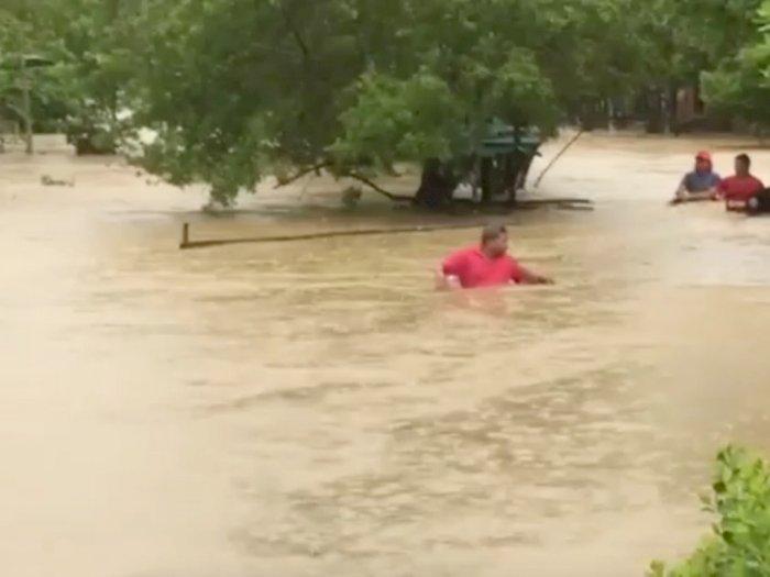 FOTO: Badai Iota Menyebabkan Banjir di Cartagena, Kolombia