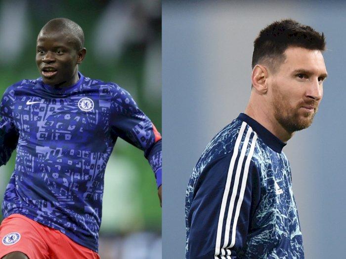 PSG Diklaim Lebih Butuh Kante Ketimbang Messi untuk Juara Liga Champions