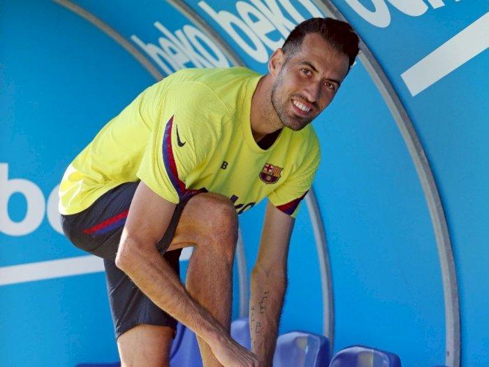 Spanyol dan Barcelona akan Kehilangan Sergio Busquets Akibat Cedera Ligamen Lutut