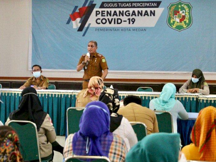 Cegah Covid-19, Kecamatan Medan Johor Sedia Relawan Sosialisasi ke Rumah Warga