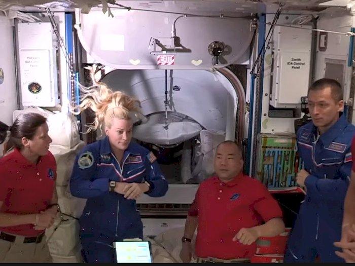4 Astronaut NASA dan JAXA Injakkan Kaki di ISS, Bakal Balik ke Bumi 6 Bulan Lagi