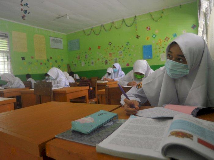 FOTO: Pembelajaran Tatap Muka di Pariaman