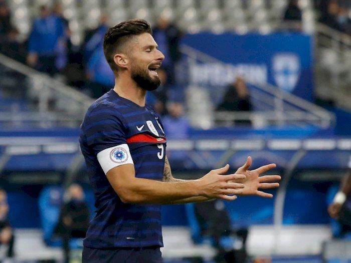 Pelatih Prancis: Situasi Giroud di Chelsea Tidak Baik Untuknya