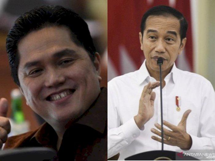 Erick Thohir Angkat Politikus PDIP, Inilah Daftar Timses Jokowi yang Jadi Komisaris BUMN