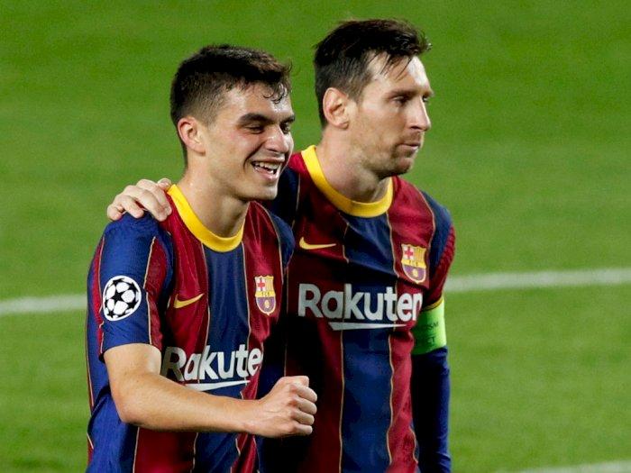 Ditolak Madrid Lalu Ditampung Barca, Pedri: Main dengan Messi adalah Hadiah di Hidup Saya