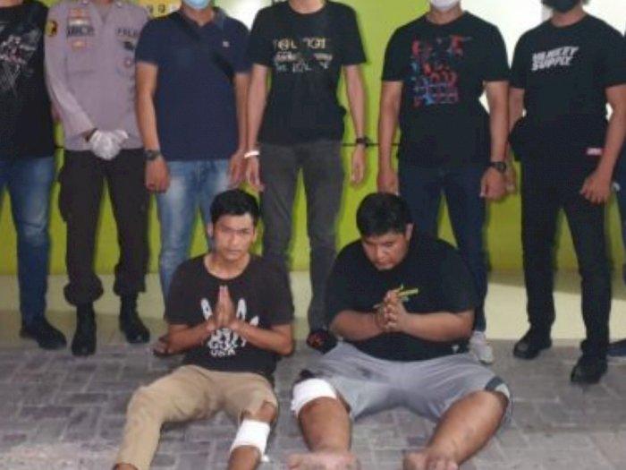 Sengaja Tabrak Polisi saat Hendak Diamankan, 2 Pelaku Curas di Medan Kena Dor Petugas