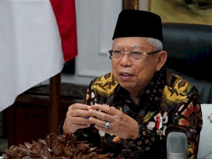 Ma'ruf Amin Minta Pondok Pesantren Terbuka untuk Kolaborasi Pengembangan Ekonomi