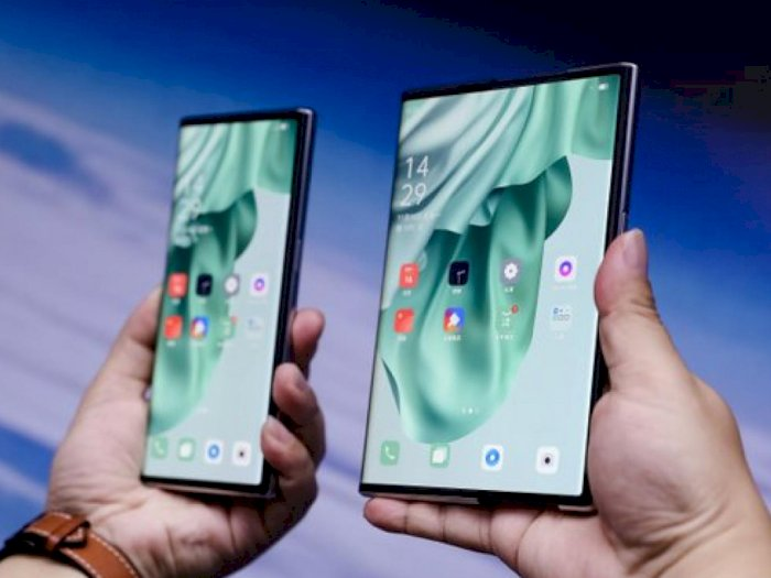 OPPO X 2021 Diumumkan Sebagai Smartphone Pertama yang Dapat Memanjang!