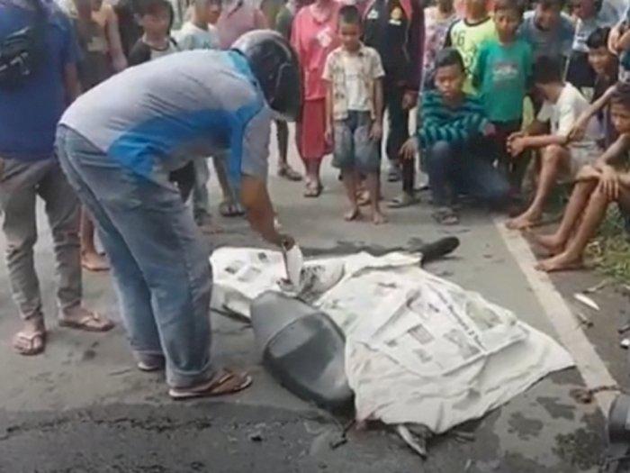 Pria Paruh Baya Tewas Ditabrak Lari, Korban Tergeletak di Jalan Raya Pelabuhan Belawan