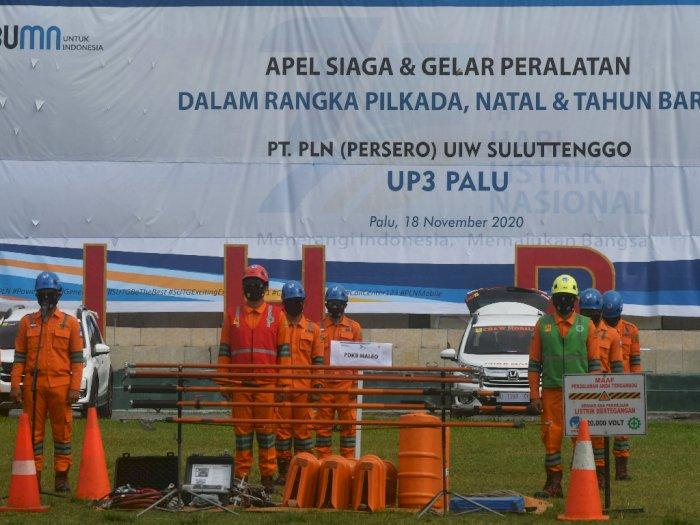 FOTO: Apel Siaga PLN Hadapi Pilkada dan La Nina di Palu
